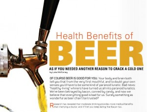 Advantages of Beer