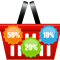 Shopping_Basket_with_Discount_Icons_PNG_Clip_Art_Image