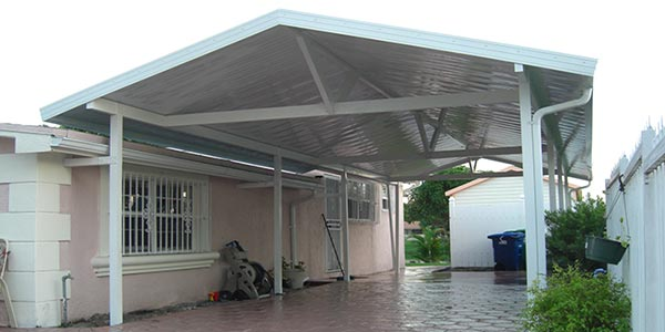 pergola outside your house
