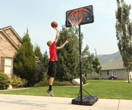 A general idea of basketball hoops build your dream for How to build a basketball goal