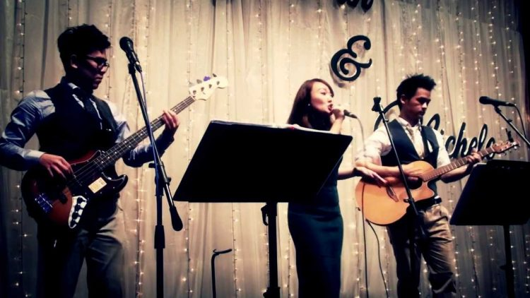 wedding live band singapore
